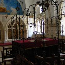 """Eine der """"Vier Sefardischen Synagogen"""" in der Jerusalemer Altstadt"""
