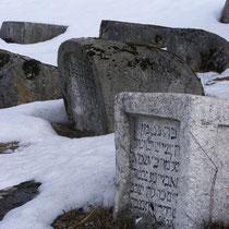 Der jüdische Friedhof ist der zweitgrößte Europas.