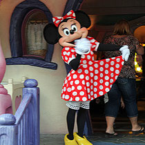 Bei Minnie Mouse
