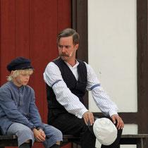 Michel und Papa