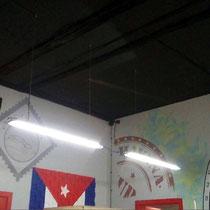 Художественное оформление барбершопа FIDEL, роспись стен.