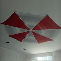 Роспись потолка в студии