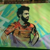 #росписьстен #граффити #спортивнаяарена #салах #emastclub #nevaarena