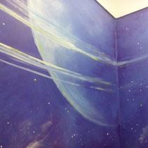 Роспись ниш в ванной комнате