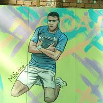 #росписьстен #граффити #спортивнаяарена #мбаппе #emastclub #nevaarena