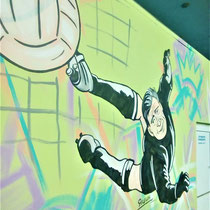 #росписьстен #граффити #спортивнаяарена #яшин #emastclub #nevaarena
