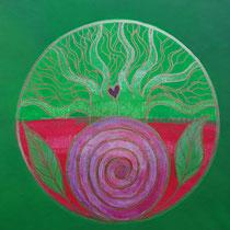Aura-Soma® Nr.28 Maid-Marion (Neuanfang), Aura-Soma® Nr.10 Geh, umarme einen Baum (Entscheidung)