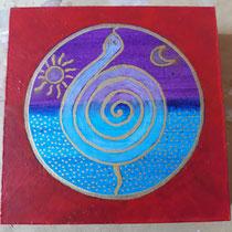 Aura-Soma® Nr.24 Neue Botschaft (Neue Möglichkeiten), Aura-Soma® Nr.6 Energie-Flasche (Opferbereite Liebe)