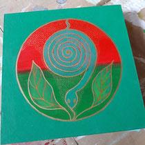 Aura-Soma® Nr.27 Robin-Hood (Durchsetzungsvermögen), Aura-Soma® Nr.9 Das Herz im Herzen (Intuition, Herzenswahrheit)