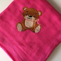pink mit Teddybär