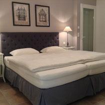 pièce 5 avec accès de terrasses, télé, climat, ventilateur de plafond, lits 2x 90x200 cm