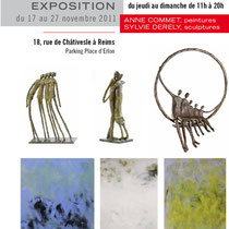 Exposition  - Sylvie DERELY - Anne COMMET