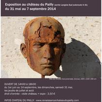 Exposition Christophe Charbonnel Château du Pailly