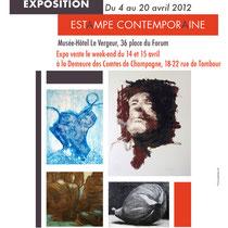 Exposition Estampe Contemporaine - graveurs de la cité des arts