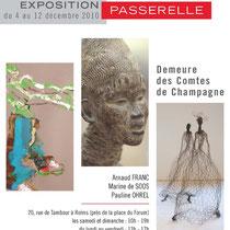 Exposition Passerelle - M. de SOOS - A. FRANC - P. OHREL