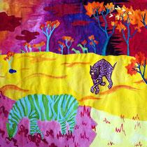 Lina Reiser, Klasse 9c, Expressionistische Tierdarstellung