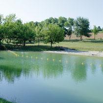Caraman et son lac aux multiples attraits : baignade, promenade…