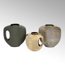 Morris Vase aus Keramik bronze, L31xB13,5xH31cm CHF 125.20 & antik metall Maße: L41xB18xH41cm CHF 226.40