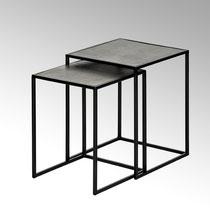 Leggero Beistelltischset schwarz/graphit