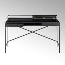 Derrick Schreibtisch  H 80,5 cm, 125x63 cm Farbe schwarz CHF 1.635,00 Walnuss CHF 1.760,00