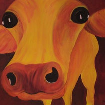 Gelbe Kuh