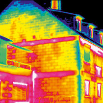 Thermografie - vor Dämmung