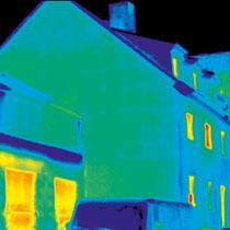 Thermografie - nach Dämmung