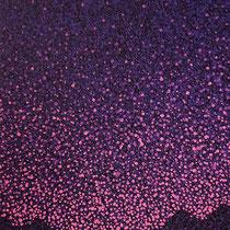 Rêverie. Huile sur toile en lin. Format 40x80 cm. Août 2017.