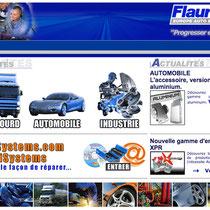 2003 - www.flauraud.fr (nomination aux Oscars des Trophées de l'automobile en 2004) - Conception générale