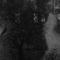 verlorene zeit, 2015; bleistift auf papier, 19x24cm