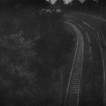 """Vielleicht doch, aus der reihe """"Entgleiten""""; Kohle auf Papier, 50x70cm, 2014"""