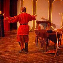 """Anton Tschechow """"Der Bär"""", Die Bühnenbohrer, 1997"""