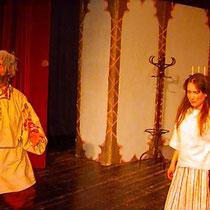 """Anton Tschechow """"Der Heiratsantrag"""", Die Bühnenbohrer, 1997"""