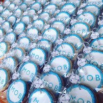 Conversion Mob bedrijfslogo koekjes