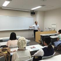 中村克己先生の体験授業「吹奏楽の好きな人、集まれ!」