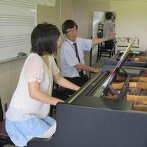 原佳大先生(ピアノ)