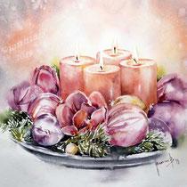 Advent IV 2019 (27) / 30x40cm Watercolour by ©janinaB.