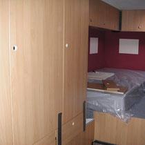Schlafzimmer fast ferig
