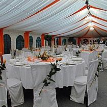 Hochzeitszelt in Augsburg