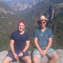 Die Aussicht ins Yosemite Valley war atemberaubend
