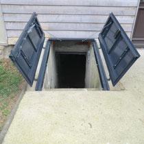 trappe cave ouverte