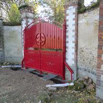 portail double vantaux