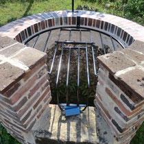 grille de protection articulée de dessus de puits
