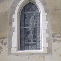 protection vitrail galvanisé