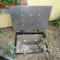 trappe de compteur d'eau