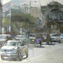 <b>Mercado</b>: Oleo sobre lienzo 0,92x0,73