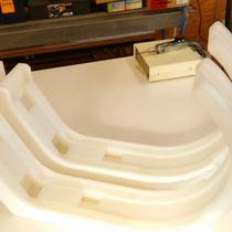 PVDF曲げ加工 洗浄装置部品アーム