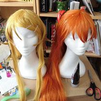 Kirino neben Asuka wig