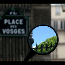 Am Place des Vosges, Paris