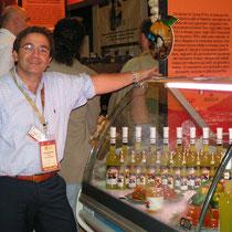 Il lancio delle nostre specialità al Salone del gusto di Torino con il nostro presidente Giovanni D'Agati
